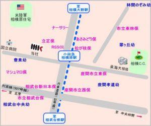 小田急相模原 幼稚園 保育園 地図