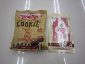 紅茶とチョコレート菓子