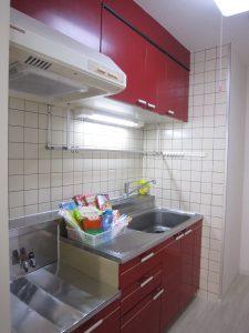 グリーンハイムリマⅡ キッチン 2口コンンロが置けます