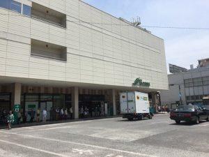 JR横浜線 中山駅ロータリー