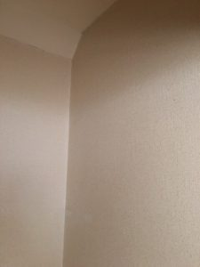 室内洗濯機置場の扉 内側